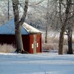 Museet en vinterdag